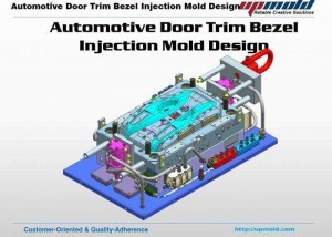 Automotive-Door-Trim-Bezel-Mold-Design