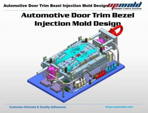Automotive Door Trim Bezel Mold Design
