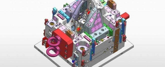 Automotive-Head-Light-Housing-Injection-Mold-Design