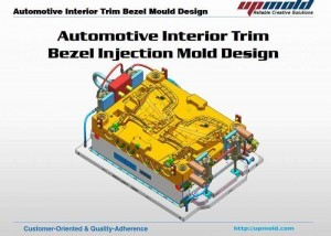 Automotive-Interior-Trim Bezel-Mould-Design