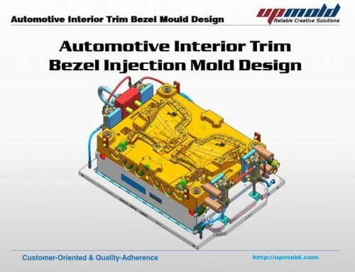 Automotive Interior Trim Bezel Mould Design