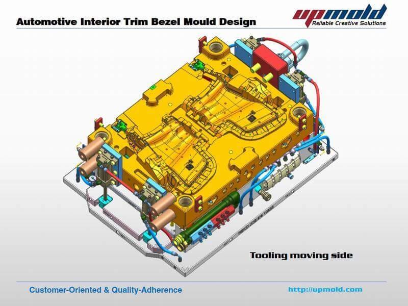 automotive interior trim bezel mould design company upmold. Black Bedroom Furniture Sets. Home Design Ideas