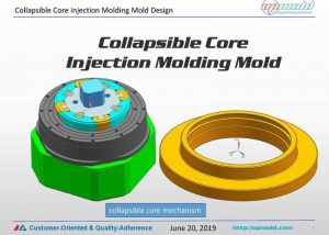 Collapsible-core-injection-molding-Molds-design