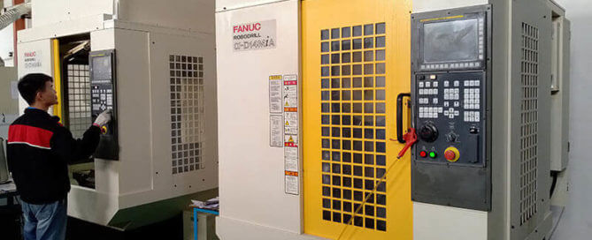 Fanuc CNC machines