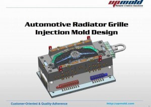 Grille-injection-mold-design