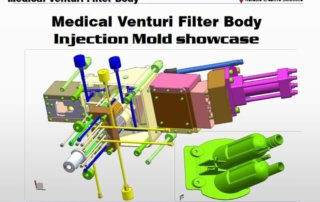 part design of Medical Venturi Filter Body