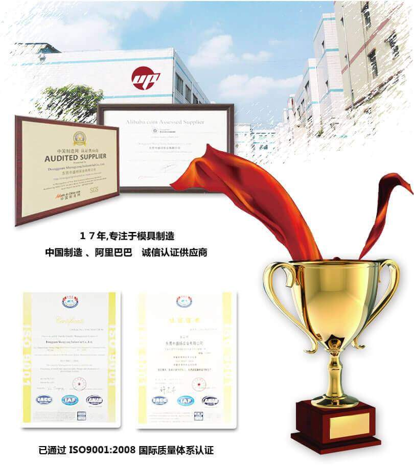 Injection molding factory of certification