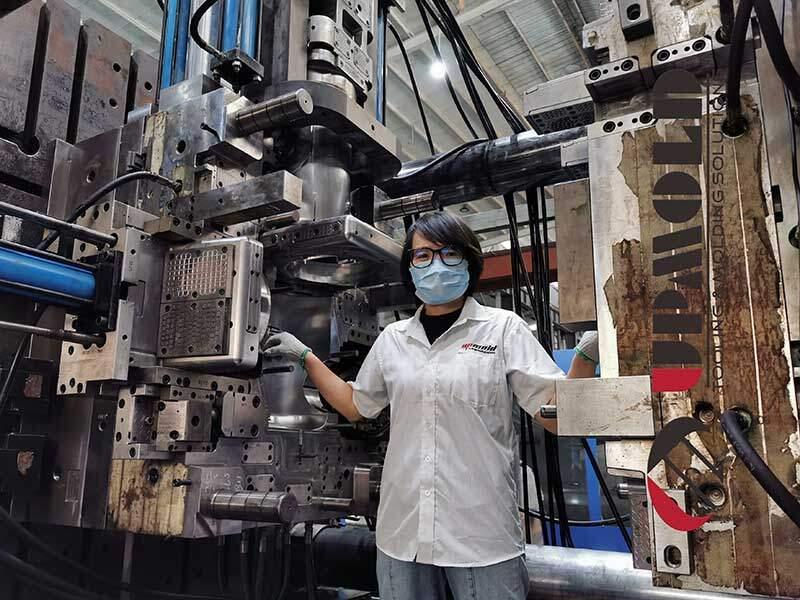 injection molding China Upmold