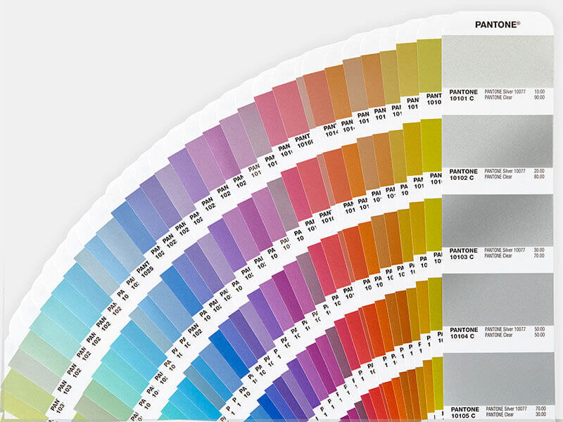 Pantone Color Chart - Upmold Technology Limited