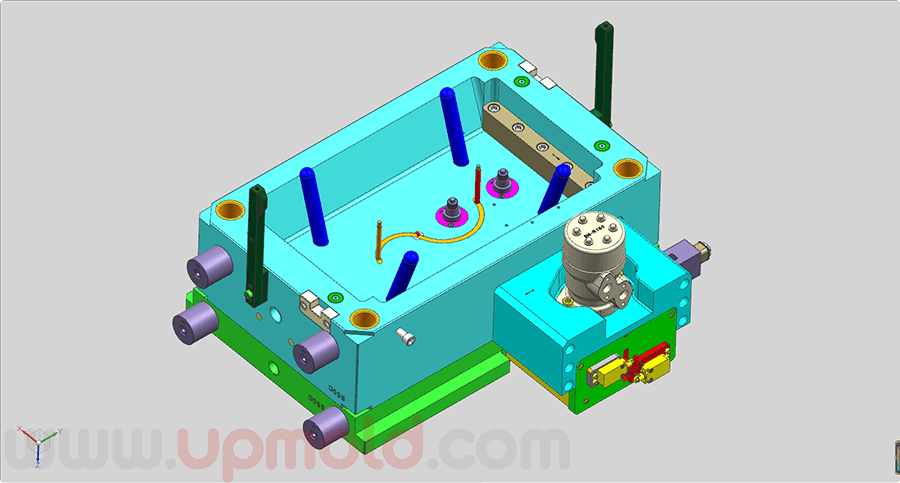 precision-plastic-injection-unscrew-molds