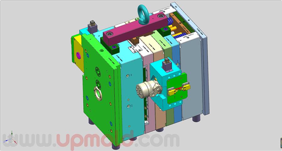 unscrew-demold-tooling-design