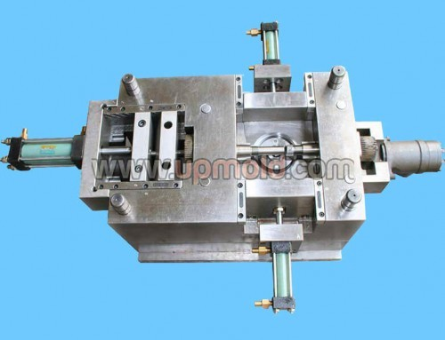 Unscrewing Cap Plastic Injection Mould