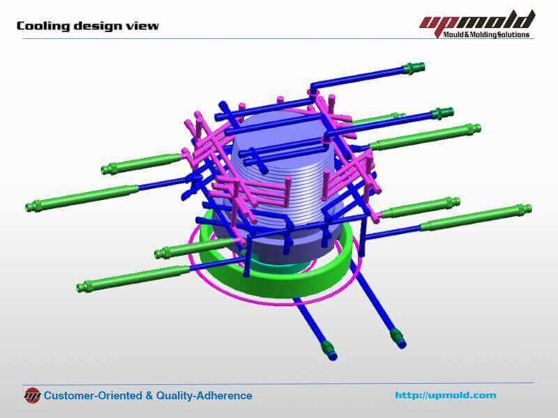 Injection Mold Cooling System Design Tutorial - Upmold Limited