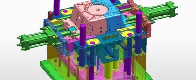 unscrewing injection mold design