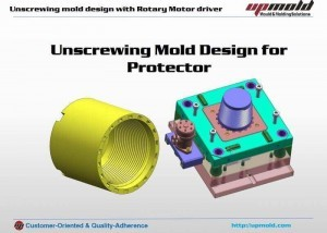 unscrewing plastic mold design
