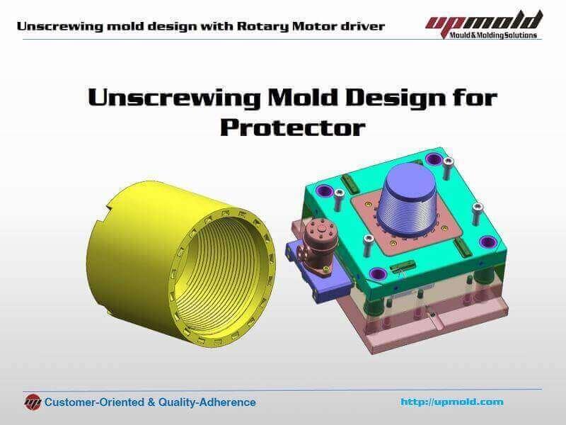 unscrewing plastic mold design